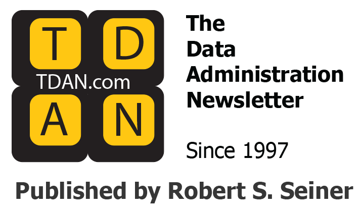 The Data Administration Newsletter